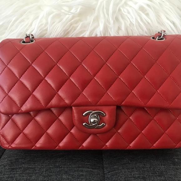 18d93d7576ad05 CHANEL Bags | Classic Flap Medium Lambskin | Poshmark